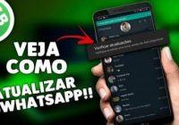 duas formas de atualizar o whatsapp gb