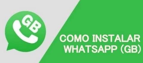 instalar whatsapp gb no android