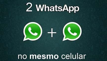 utilizar duas contas do whatsapp gb no mesmo aparelho
